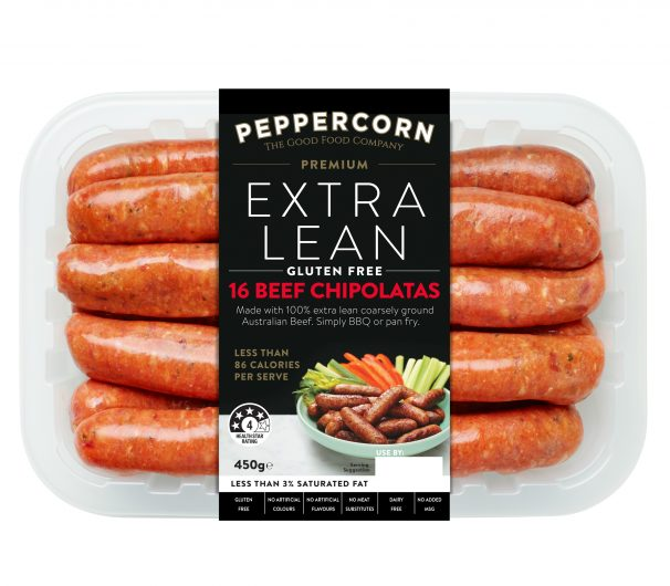 PFC-ExL Beef Chipolatas 450g_2401x2401px 300dpi with path