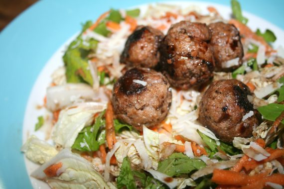 meatballs-shaved-cabbage
