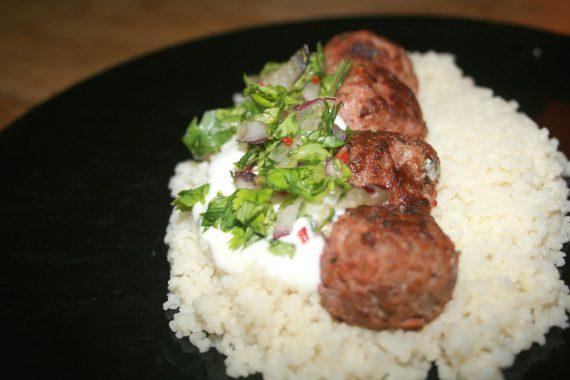 meatballs-with-mint-cous-cous
