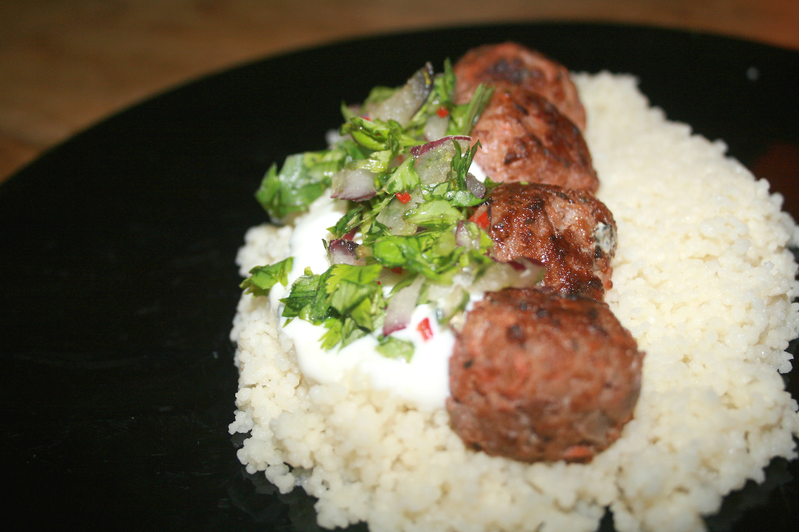 meatballs-with-mint-cous-cous