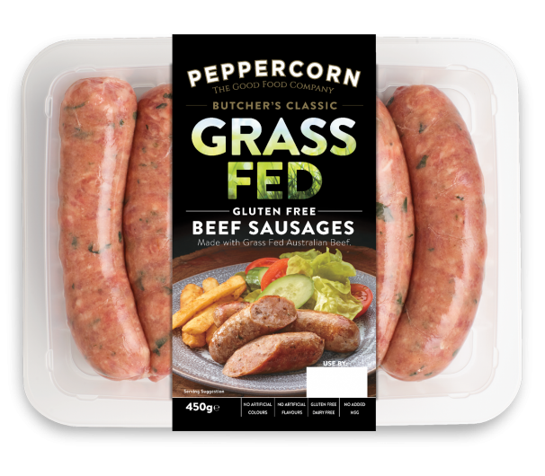 PFC BC Grass Fed Beef Sausages WEB_605x530px_rgb