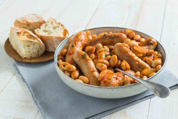 recipe-pork-sausage-beens